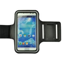 Samsung Galaxy S7 Black Neoprene Adjustable Sports Arm Band