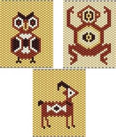 Image detail for -com here southwest critters 3 category native american stitch peyote ...