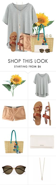"""""""~Beauty begins the moment you decide to be YOU~"""" by annaewakefield ❤ liked on Polyvore featuring Jack Wills, Gap, Misa, Kate Spade, Yves Saint Laurent, Zoya and Kendra Scott"""