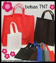 Aquí os traemos nuestras fabulosas bolsas para personalizar. ¡Y ahora... varios colores a elegir! http://www.hazlo-manualidades.com/index.php?option=com_virtuemart&view=category&virtuemart_category_id=1457
