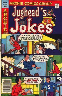 Jughead's Jokes 72, Archie Comic Publications, Inc.  https://www.pinterest.com/citygirlpideas/archie-comics/