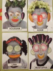 * * * The Idea Box of I & # workshop * * *: DIY likes this artist - Nutrition Trend Diy For Kids, Crafts For Kids, Arts And Crafts, Lessons For Kids, Art Lessons, Giuseppe Arcimboldo, Fruit Crafts, Kindergarten Art Projects, Artists For Kids