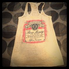 Kip Moore Beer Money Tour Tank Never worn- was too small. Love the design!  Tops Tank Tops