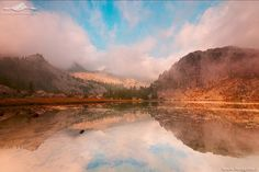 Google+ Mirror Image, Reflection, River, Mountains, Google, Nature, Photography, Outdoor, Outdoors