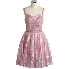 Chicwish The Perfect Glam Sequins Cami Dress in Pink ($51) ❤ liked on Polyvore featuring dresses, vestidos, pink, chicwish, pink sequin cocktail dress, pink sequin dress, cocktail party dress, glitter dress and glitter cocktail dresses