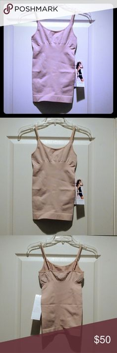New! Cass Invisibellas Nude Shaping Tank! L/XL Luxury shapewear by Cass. Nude invisibellas tank. For a 12 to 16. Size L/XL. New with tags. The pics up above explain the awesome product better than I can! Offers, bundles and questions welcome! Cass Intimates & Sleepwear Shapewear