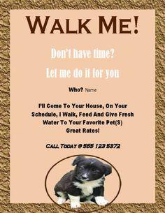 dog walking certificates