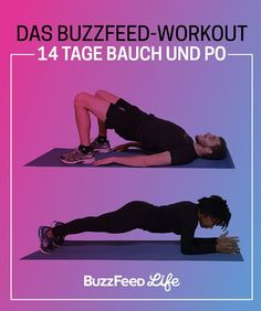 Meld' dich jetzt an zum BuzzFeed-Workout – 14 Tage Bauch und Po