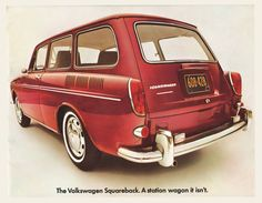 1969 Volkswagen Type 3 Squareback Brochure I OldBrochures.com