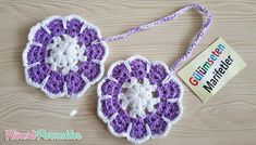 Crochet Designs, Crochet Flowers, Flamingo, Crochet Earrings, Dreams, Xmas, Pot Holders, Ear Studs, Amigurumi