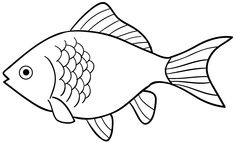 10 Mewarnai Gambar Ikan Mas Bonikids Coloring Page Camping Coloring Pages, Animal Coloring Pages, Coloring Pages To Print, Colouring Pages, Coloring Pages For Kids, Coloring Books, Fish Clipart, Fish Vector, Fish Outline