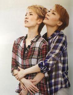 Sagiri Seina and Nozomi Fuuto