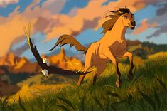 I drew a couple of Spirit fanarts recently :>   Natalie de Corsair's art Spirit Horse Movie, Spirit The Horse, Spirit And Rain, Horse Animation, Dreamworks Animation, Disney Animation, All Disney Movies, Walt Disney Characters, Lion King Pictures