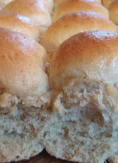 These Pull Apart Oat Rolls are SO easy to make. Just dump the ingredients in your bread machine on the dough cycle & then form into rolls and bake! They are soft and delicious!