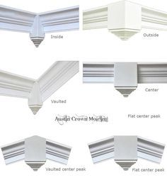 do people put crown molding on vaulted ceilings - Google Search