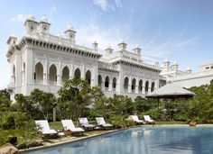 The Taj Falaknuma Palace is a nizams palace located in Hyderabad, the capital city of Andhra Pradesh India.