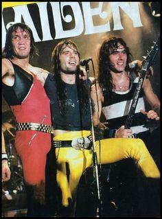 Nicko, Bruce and Steve.