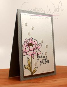 You've got this by ilinacrouse - Cards and Paper Crafts at Splitcoaststampers