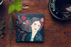 DIbujos para el disco Este Instante, de Marta Gómez