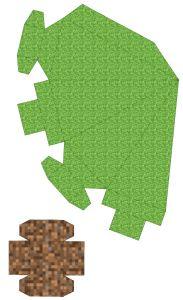 Free Printable Minecraft 3d Christmas Tree