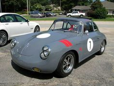 1964 Porsche 356 Outlaw/Disc Brake/Fully Restored Vintage Race Replica/1 of 1/A+, image 2