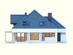 DOM.PL™ - Projekt domu DM Opałek X 2G CE - DOM GM3-32 - gotowy koszt budowy Minecraft Pe, House Styles, Home Decor, Houses, Opal, Decoration Home, Room Decor, Home Interior Design, Home Decoration