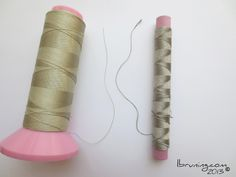 conductive thread from Kitronik and Mitsifuji used for eTextiles, craft-tech and wearable computing.