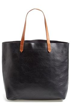 Madewell The Transport Leather Tote