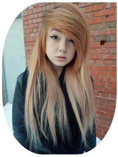 #scene #scenehair #hairstyle #scenegirl #hair Scene Girl Hair, Scene Girls, Girl Hairstyles, Hipster, Long Hair Styles, Emo, Beautiful, Beauty, Hipsters