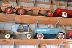 Junkin' day with Granny and Grumpa | Funky Junk Interiors - crazy huge photo heavy post on multiple barns loaded with junk!
