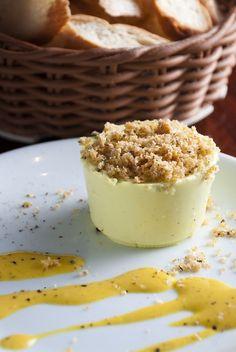 Mousse salgada de gorgonzola - RECEITA
