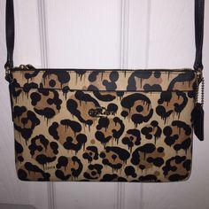 PRICE FIRM - BUY NOW -COACH BAG NWT Wild Beast COACH BAG NWT - Wild Beast. Retail 165 + tax. ❌ TRADE.  10x7 Coach Bags
