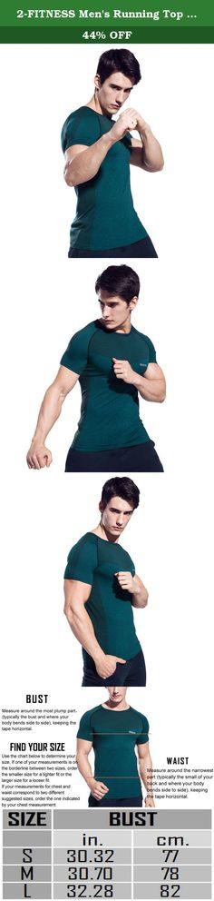 2-FITNESS Men's Running Top Breathable Sport T-Shirt Wicking Gym Short Sleeve Tee Shirt Peacock Blue S. This Running Top, helps you to stay warm and highly visible on the roads. It comes with thermal fabric, keeping you insulated and it is perfect for the longer runs Super-soft Nylon fabric circulates body heat to help regulate your core temperature Signature Moisture Transport System wicks sweat to keep you dry & light Anti-microbial technology keeps your gear fresher, longer Lightweight...