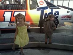 This ones for u @AllWaltrip. Think Leo's checking to c if anyone's looking so he can hop in and take it for a spin.