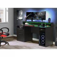 Gaming Desk Setup, Gaming Computer Desk, Pc Setup, Gaming Desk Large, Cheap Gaming Setup, Gaming Desk Black, Gaming Desktops, Best Gaming Setup, Gamer Setup