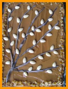 Polish Traditional Easter Cake  mazurek kajmakowy