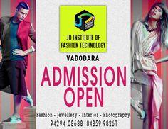 JD Institute of Fashion Technology Vadodara welcomes for  #fashiondesign , #interiordesiging , #fashionphotography