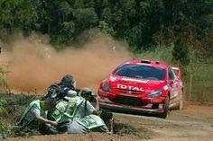 Gotta love that rally dirt.