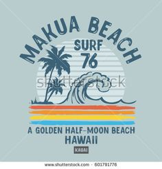 Surfing holidays is a surfing vlog with instructional surf videos, fails and big waves Surf Stickers, Retro Surf, Sports Illustrated Models, Summer Surf, Summer Logo, Stock Image, Logos, Hawaii, Thing 1