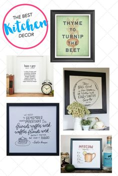 I've been looking for decorations for my kitchen -- these prints have won my heart! I mean, who doesn't need a Leslie Knope quote about waffles in their kitchen? Shabby Chic Farmhouse, Farmhouse Style, Design Your Own Home, Interior Inspiration, Kitchen Inspiration, Leslie Knope, Craft Quotes, Kitchen Decor, Kitchen Items