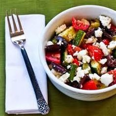 Wonderful Greek Salad I used 1/3 Cup of dressing for Greek salad for two.  Use this dressing to marinade chicken or pork, use on cooked veggies or even other types of salads.  Make a quart canning jar.
