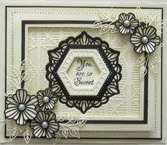 Sue Wilson Designs - Die - Finishing Touches Collection - Striped ...