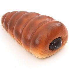 cute big chocolate cat cornet bread bun scented squishy by Puni Maru 1