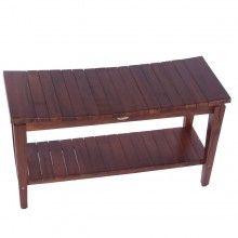 teak asia shower bench sojourn