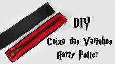 DIY: Como Fazer a Caixa das Varinhas de HARRY POTTER (Wand Box Tutorial)