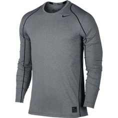 Looking for the perfect Nike Pro Cool Men's Long Sleeve Training Top Size Medium (Grey)? Please click and view this most popular Nike Pro Cool Men's Long Sleeve Training Top Size Medium (Grey). Ropa Under Armour, Cool T Shirts, Tee Shirts, Training Tops, Moda Fitness, Nike Outfits, Personalized T Shirts, Nike Pros, Nike Men