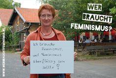 """""""Ich brauche #Feminismus, weil Feminismus überflüssig sein sollte!"""" (Brigitte)"""