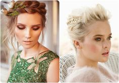 2014 Winter/2015 Hairstyles and Hair Color Trends braided updo hairstyles  braided hairstyles