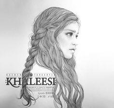 KHALEESI (G.O.T) vol.1 by Mercedes deBellard, via Behance