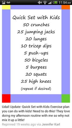 Are You Ready For A Fun Summer Mom And Kid Workout Get Up